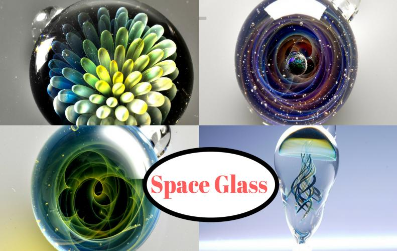 Space Glass: Glass Pendants By Japanese Artist