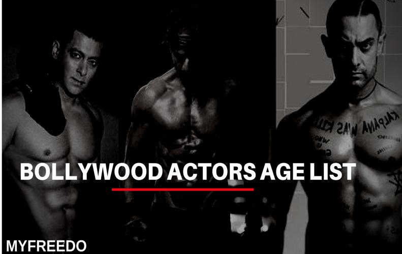 Top 10 Bollywood Actors Age List | You Didn't Even Know It!