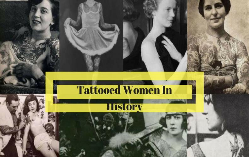 Tattooed Women of the Early 20th Century | An Old Chepter of Tattoo