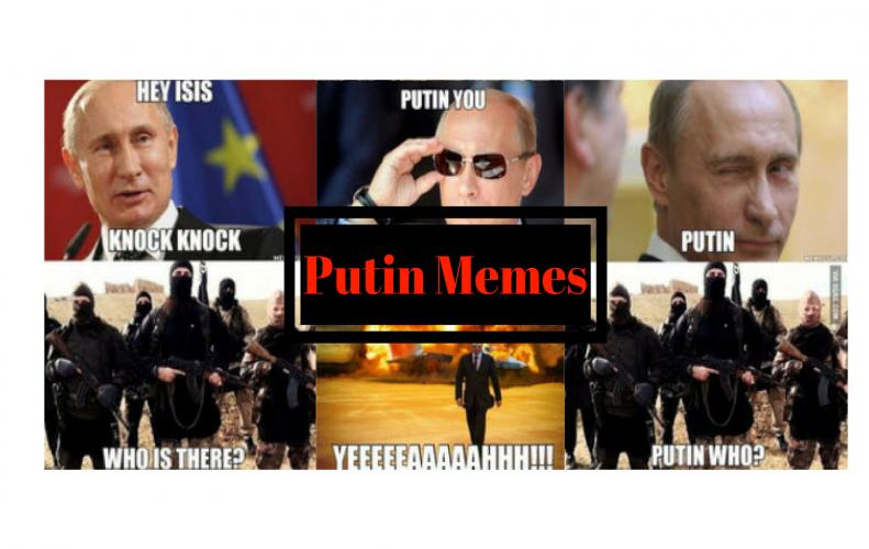 Putin Memes | Best Collection of Funny Putin Pictures