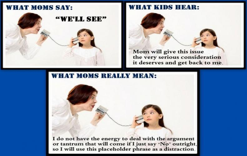 Conversation Goals with Parents | What they Say and What they Mean Really
