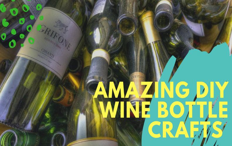 11 Amazing DIY Wine Bottle Crafts For You