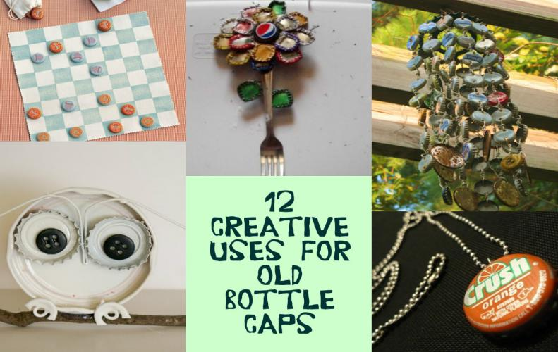 Things to do with Bottle Caps | Creative DIY Bottle Cap Crafts Ideas