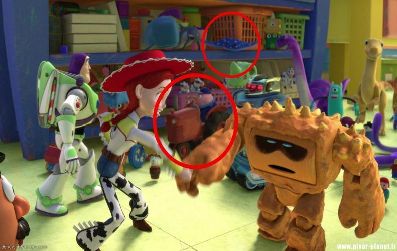 Disney Easter Eggs From Popular Disney Pixar Movies