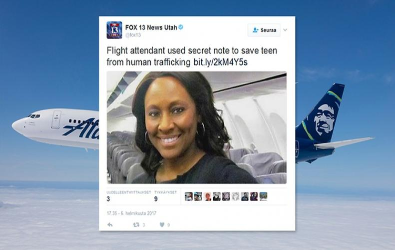 Shelia Frederick | A Flight Attendant Observed Suspicious Activity and Asked for Help