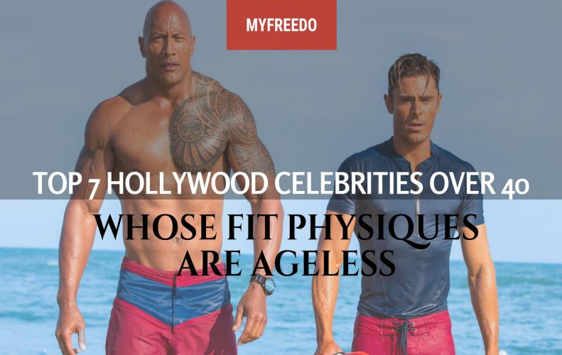 TOP 10 Hollywood Celebrities Over 40 Whose Fit Physiques Are Ageless