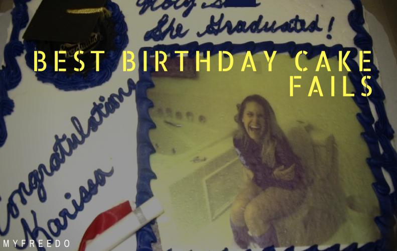 Funny and Creepy Birthday Cake Fails Only For You