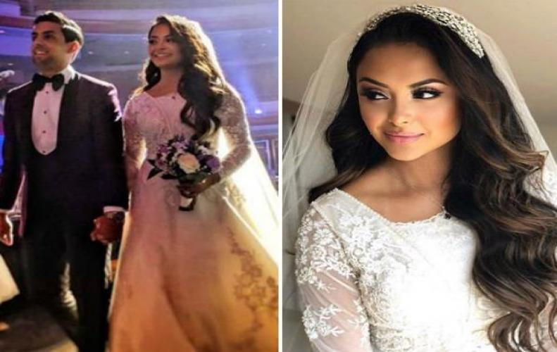 Afshan Azad AKA Padma Patil from Harry Potter Series Wedding Photos