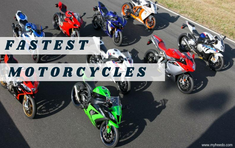 Top 10 Fastest Motorcycles Existing on Earth