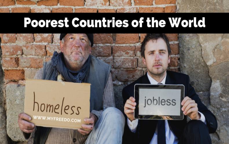 Poorest Countries In The World According To Their GDP