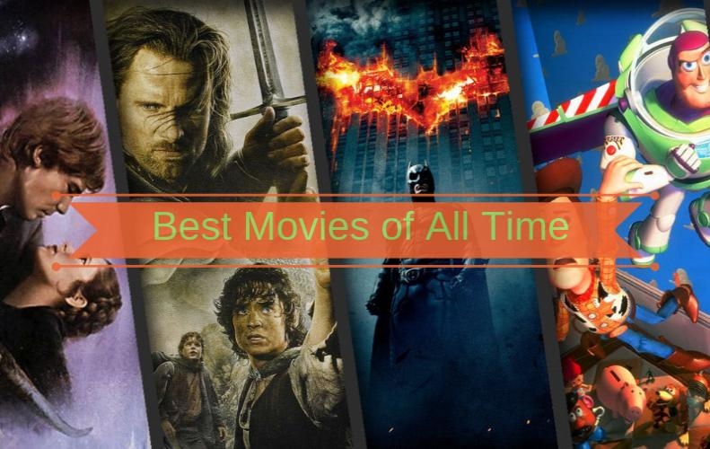 List of Top 25 Best Movies of All Time