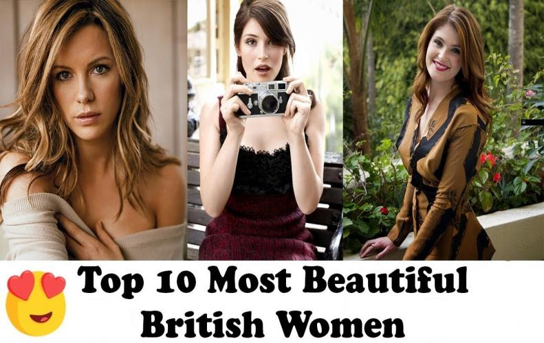 The Most Beautiful British Women - List of Top 10