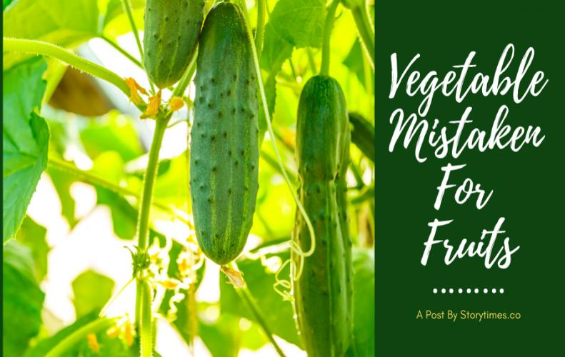 Everyday Vegetables Mistaken For Fruits...