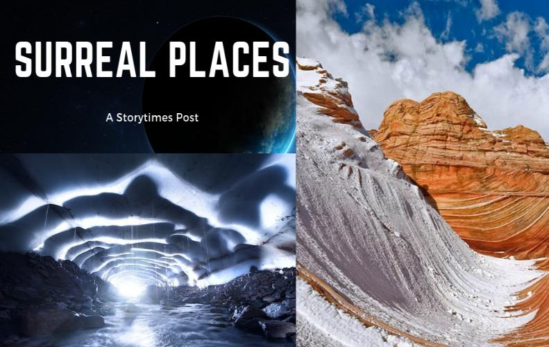 Top Most Surreal Places On The Planet