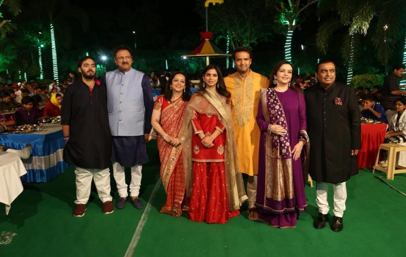 Isha Ambani Sangeet Latest Pics and Snaps