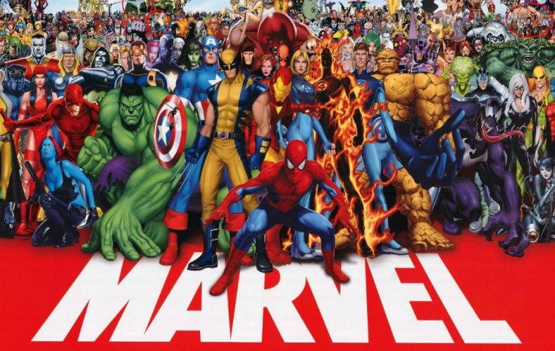 Most Famous Characters of the Marvel Universe of All Time