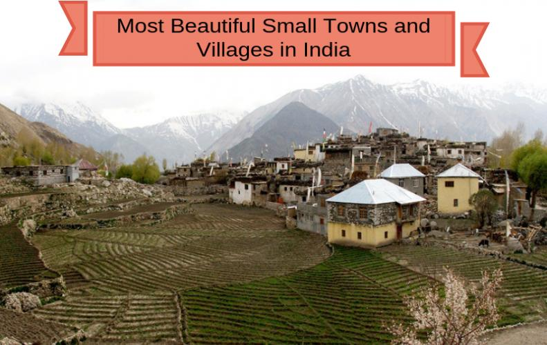 Most Beautiful Small Towns and Villages in India | The List of Top 10