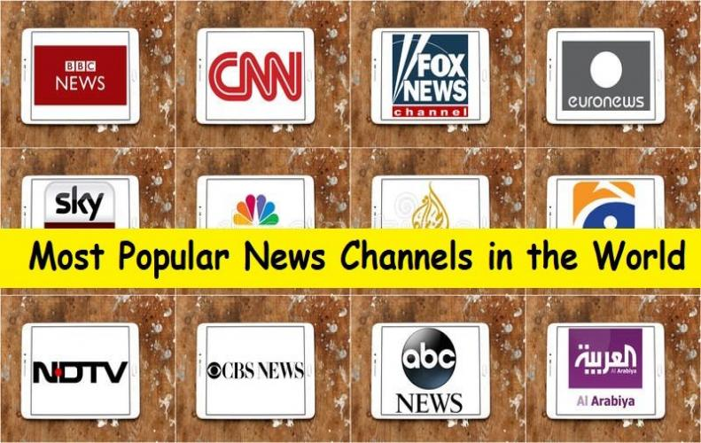 Most Famous Top 10 News Channels in the World...