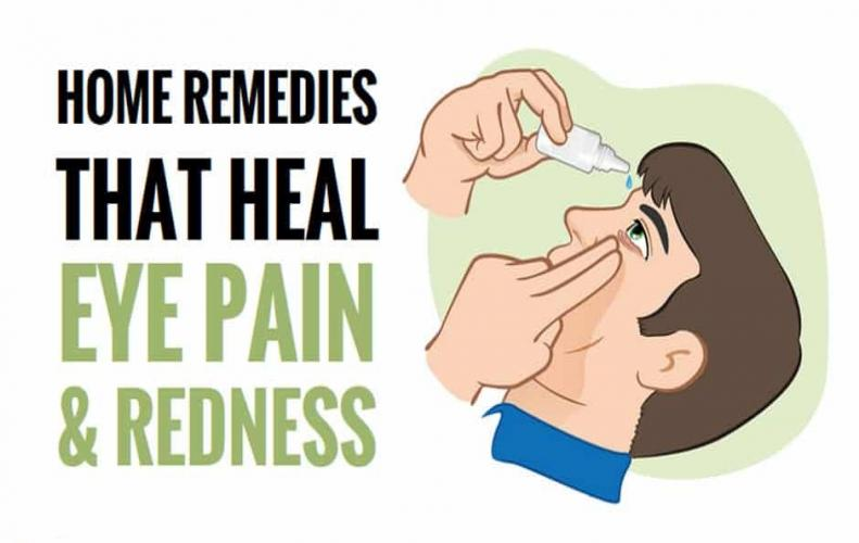 How to Get Relief from Eye Pain | Natural Home Remedies