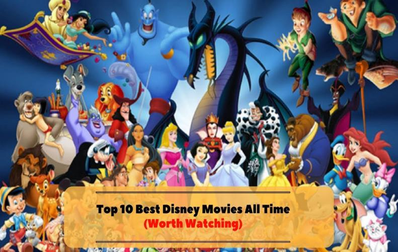Best Disney Animated Movies of All Time | The List of Top 10...