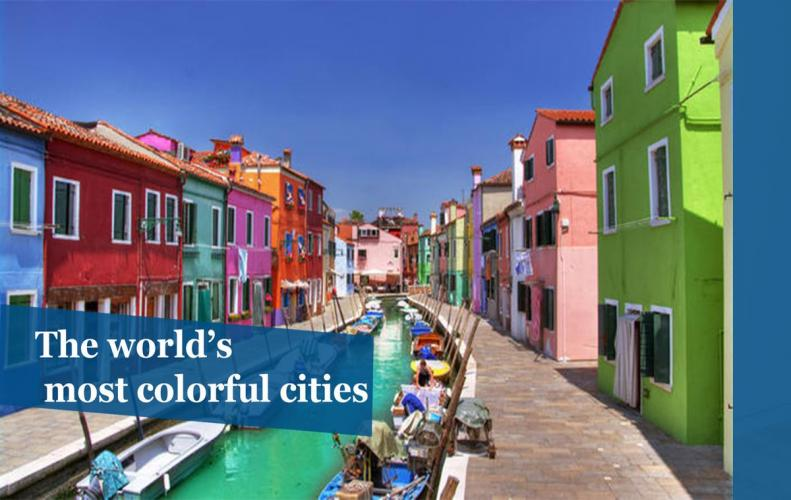Most Colorful Cities in the World | The List of Top 10