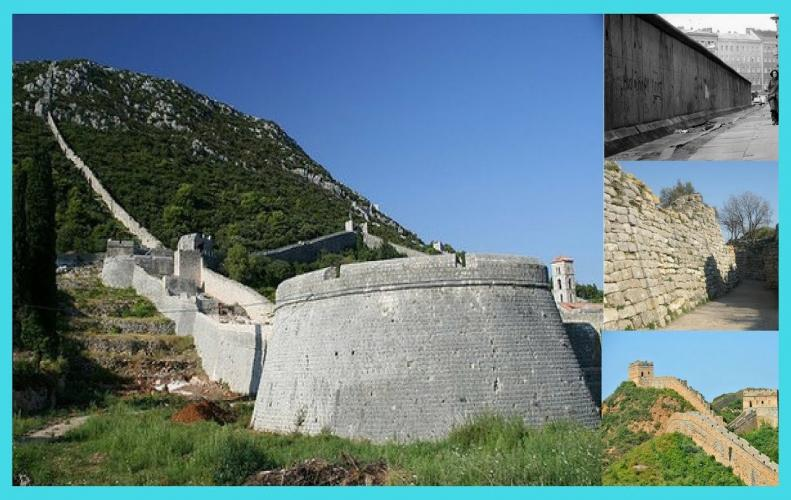 Most Famous Walls In The World | The List of Top 10