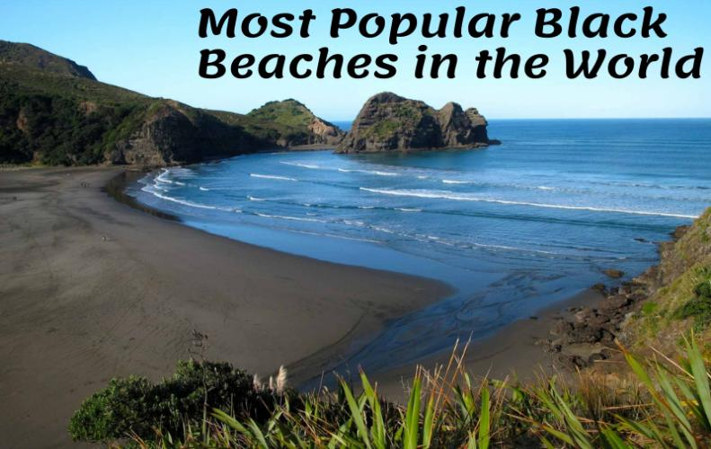 Most Popular Black Beaches in the World | The List of Top 10