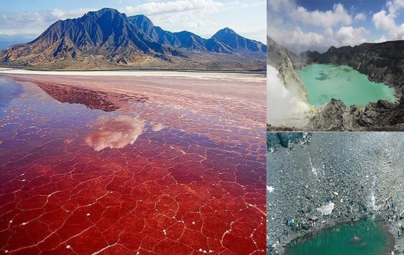 Top Strange Lakes in the World that are Real Bizarre to Explore