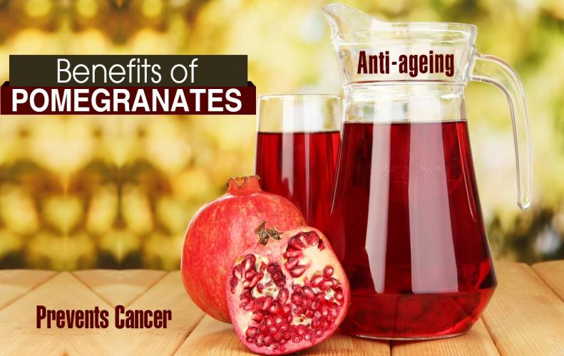Most Amazing Health Benefits of Pomegranate Proven by Doctors