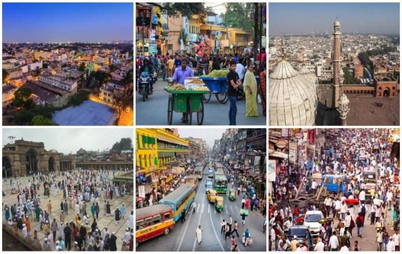 Biggest Cities in India in Terms of Population and Covered Area