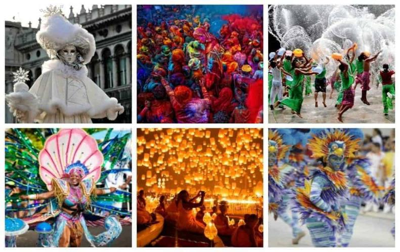Most Popular Festivals in the World | The List of Top 10