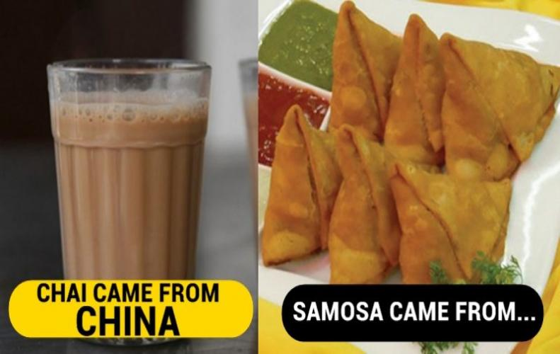 Top Indian Foods that are Most Famous but Not Originally fro...