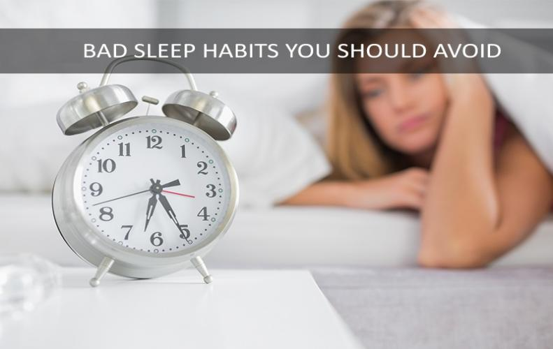 Bad Habits that Causes Sleeplessness and How to Avoid them...