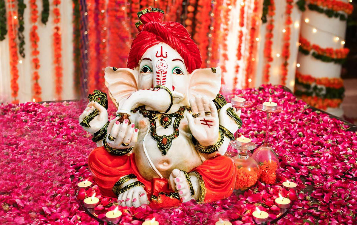 how to make happy lord ganesha