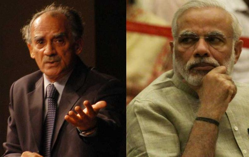 अब अरुण शौरी ने मोदी सरकार पर साधा निशाना, कहा- ढाई लोग लेते हैं आर्थिक फैसले