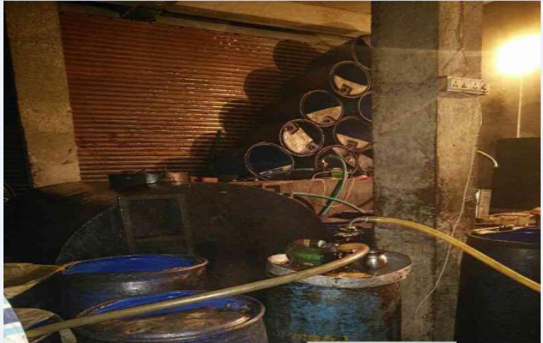 चाकसू में मिलावटी खाद्य तेल का कारखाना सील, हो रहा था सेहत से खिलवाड़