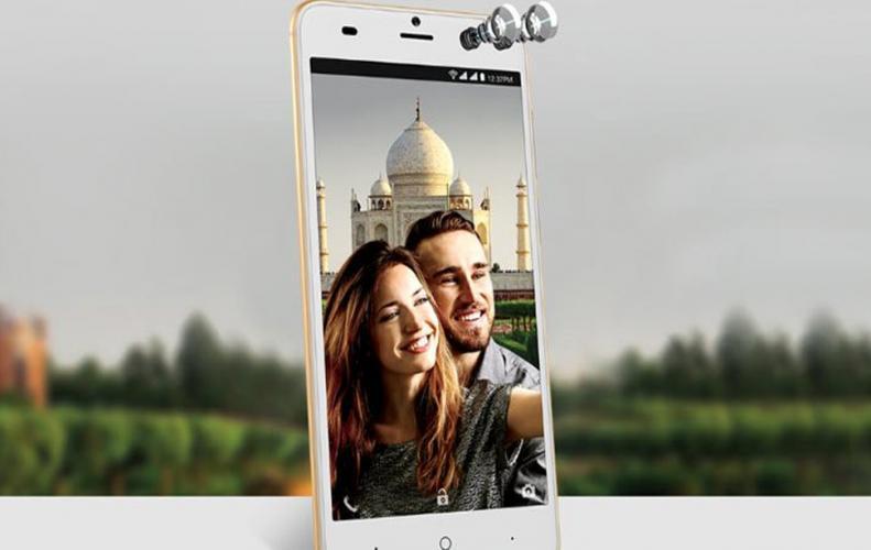 INTEX  ने लॉन्च किया 7 हजार से भी कम में ड्युल सेल्फी कैमरे वाला स्मार्टफोन
