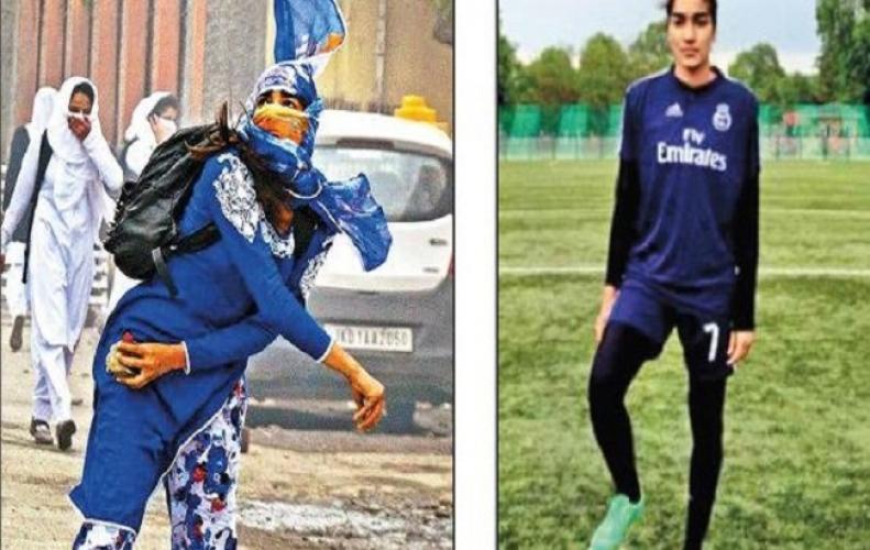 कभी श्रीनगर की गलियों में पत्थर फेका करती थी ये लड़की आज है फूटबाल टीम की कप्तान...