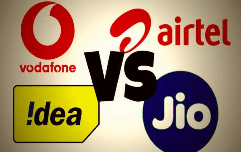 जियो Vs एयरटेल Vs वोडा Vs आइडिया: 70GB डाटा में कौन बेहतर जानिए...