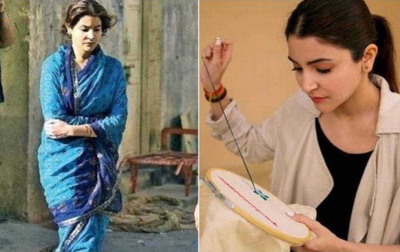 शादी के बाद अनुष्का शर्मा की पहली फिल्म सुई धागा की यह फोटोज इंटरनेट पर हुई लीक