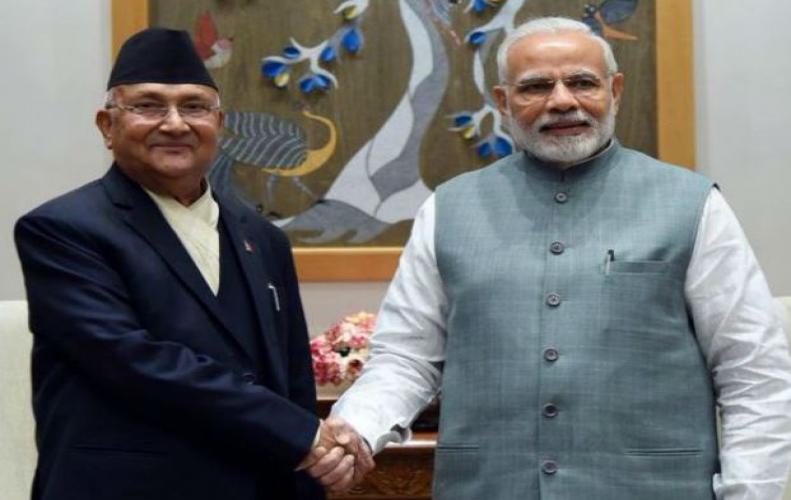 PM मोदी और के.पी ओली ने कि...