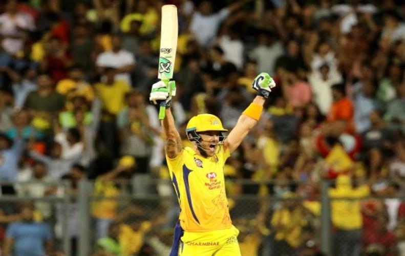 डु प्लेसिस की तूफानी पारी से सहमी हैदराबाद, चेन्नई की 2 विकेट से शानदार जीत...