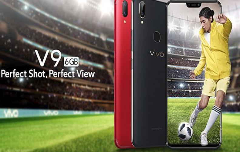 स्मार्टफोन Vivo V9 का एक नय�...
