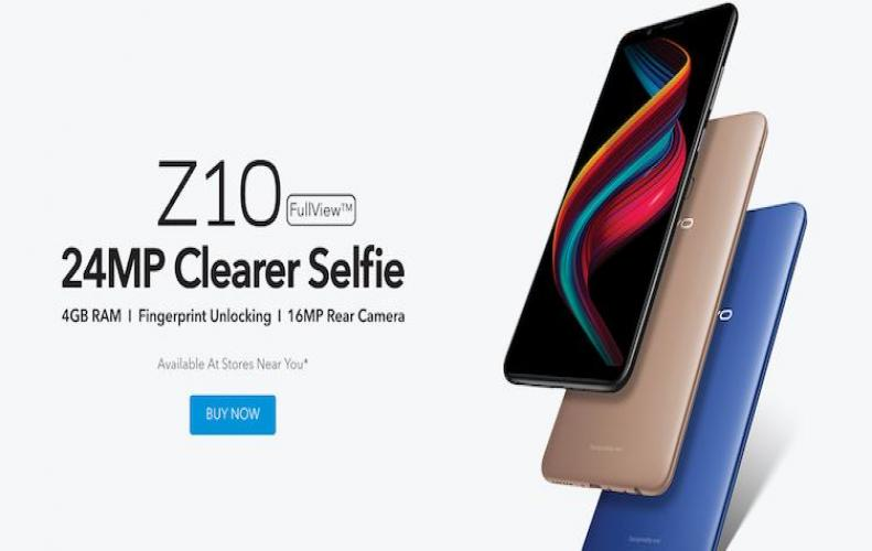 स्मार्टफोन VivoZ10 को किया �...