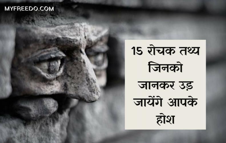 15 रोचक तथ्य जिनको जानकर उड़ जायेंगे आपके होश | 15 Interesting Facts in Hindi