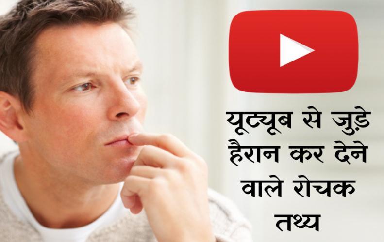 यूट्यूब के बारे में 10 रोचक तथ्य | Interesting Facts About Youtube In Hindi