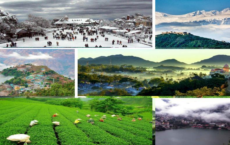 भारत के 10 सबसे खूबसूरत हिल स्टेशन | India's Most Beautiful Hill Stations In Hindi