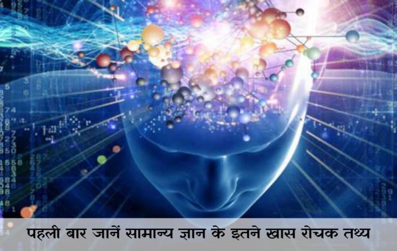 पहली बार जानें सामान्य ज्ञान के इतने खास रोचक तथ्य | Common Sense in Hindi