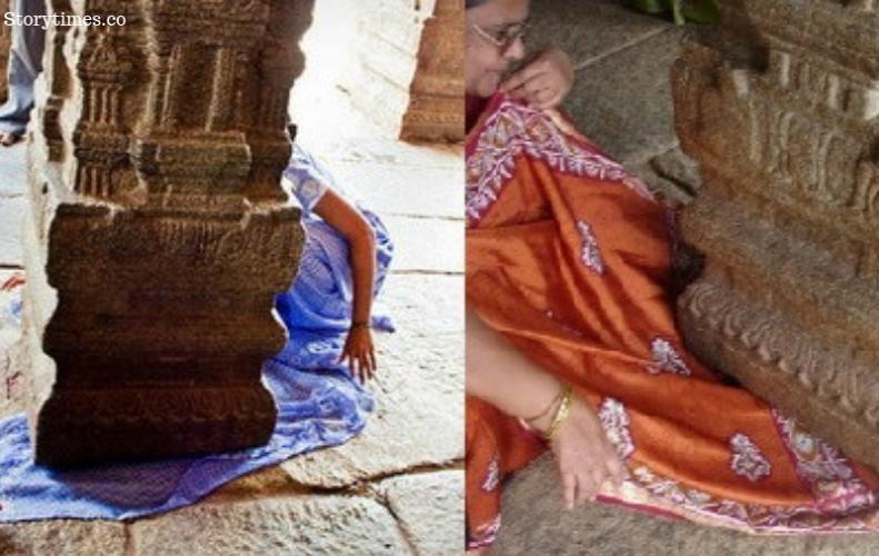 16 वीं सदी में बने इस मंदिर के सालों से लटक रहे है पिलर | Lepakshi Temple History In Hindi