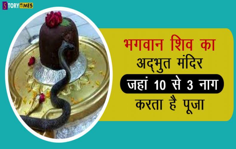 भगवान शिव का अद्भुत मंदिर जहां 10 से 3 नाग करता है पूजा | Mysterious Siva Temple Salemabad In Hindi